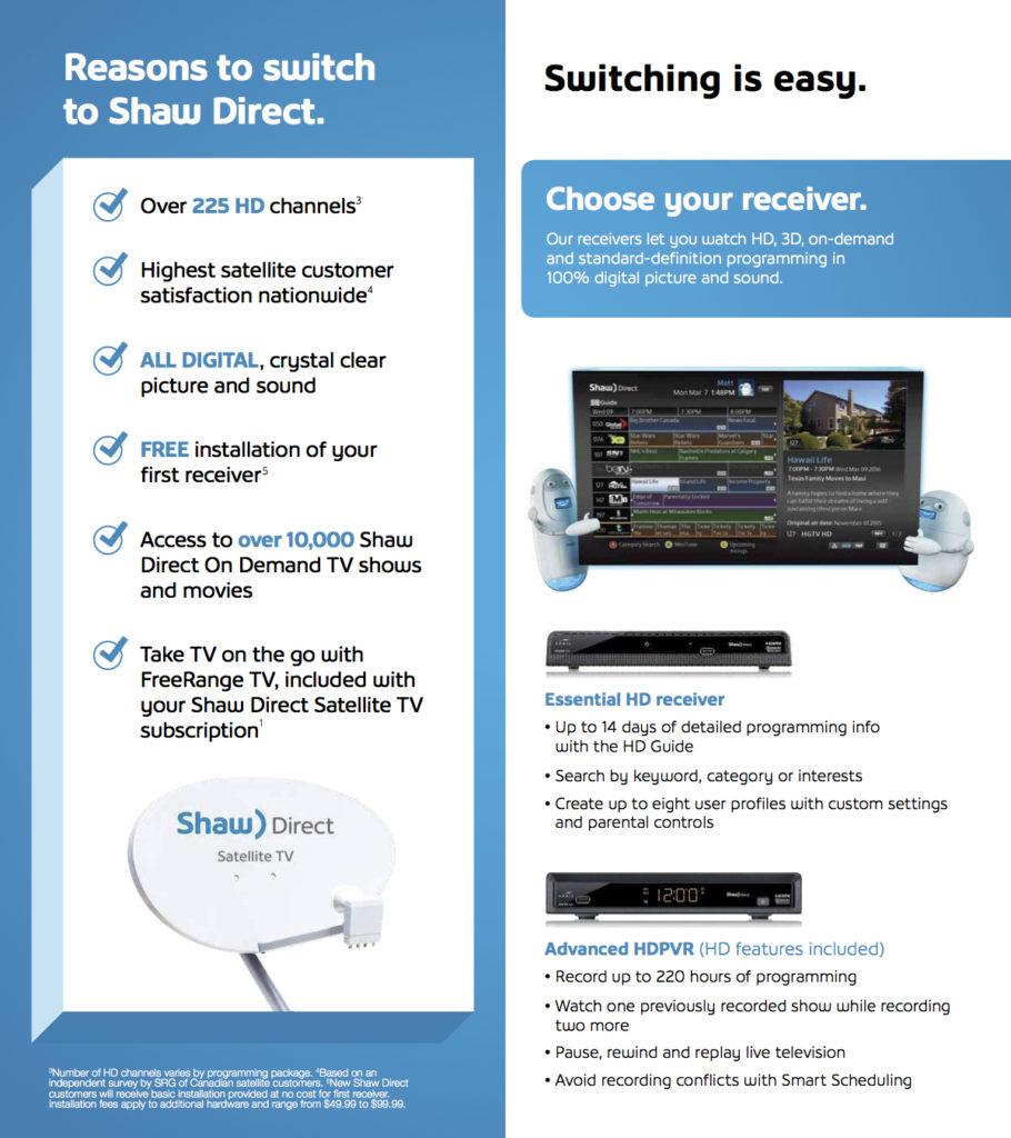 Shaw Direct – Rocky Mountain Satellites Plus